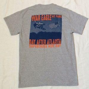 Collectible Auburn War Eagle Motor Cross T-Shirt S
